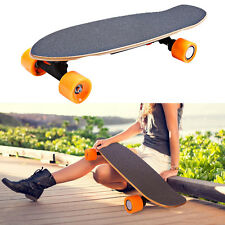 Electric Skateboard Wireless Remote Control Four Wheels Longboard Skate Board
