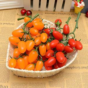 Artificial Cherry/&Cherry Tomato Fruit Fake Food House Party Kitchen Decor