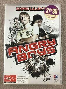 Angry-Boys-DVD-2013-3-Disc-Set-Chris-Lilleyh-REGION-4