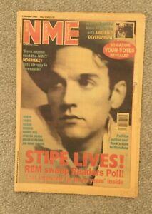 NME Magazine -2 January 1993 Morrissey, Suede, Manics, REM, Harry Hill, James