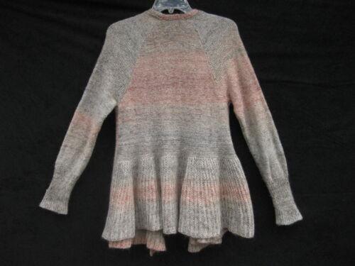Cardigan euc Knitted Anthropologie s Maglione Peplum Cody ~ ~ ~ muti colori Knotted 7ORdI