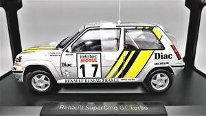 MODELE-AUTO-RENAULT-5-SUPERCINQUE-GT-TURBO-RALLY-1-18-MOULE-SOUS-PRESSION-NOREV