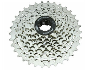 Sunrace Cassette Csm66 12-34 8 Speed Nickel Sporting Goods Cassettes, Freewheels & Cogs