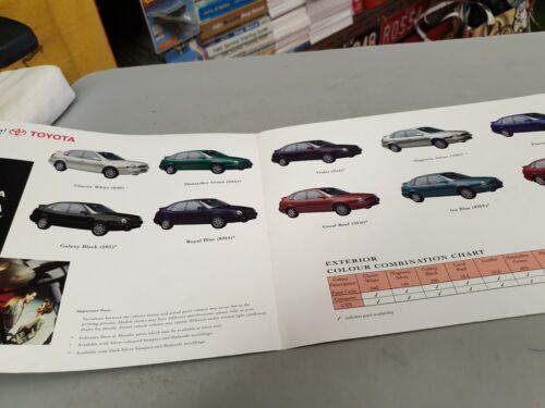 1998 TOYOTA COROLLA LIFTBACK  Australian Sales Brochure