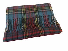 Scottish 100% Lambswool Anderson Tartan Scarf Brand New With Tags