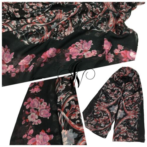 Hijab//scarf maxi beautiful floral design colours