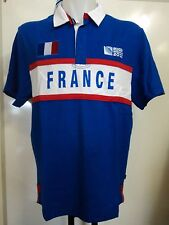 FRANCE RWC 2015 S/S RUGBY JERSEY BY CANTERBURY SIZE MEDIUM BRAND NEW