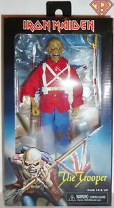 """NECA IRON MAIDEN THE TROOPER 8/"""" CLOTHED FIGURE BRAND NEW"""