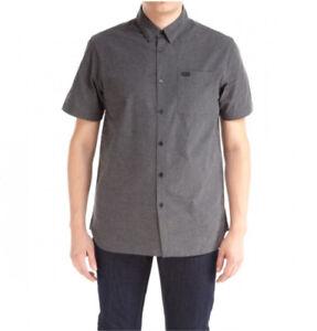 KR3W Men's Button Shirt Short Sleeves Size L