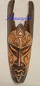 Maske  30 cm Wandmaske Afrikanische Holz