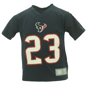 finest selection 9233c f0cfd Details about Houston Texans Youth Kids Size Arian Foster Official NFL  Jersey Style Shirt New