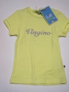 Vingino-Maedchen-T-Shirt-BABE-yellow-Gr-92-104-NEU-60-reduziert
