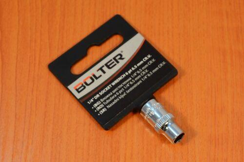 """Douilles clés à douille profond Noix brièvement écrou 6 pans 1//4/""""-6,5mm bolter"""