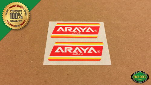 "Wheel BMX Decal Stickers 24/"" /& 26/"" 1 PAIR NEW Araya SPECIAL EDITION Rim"