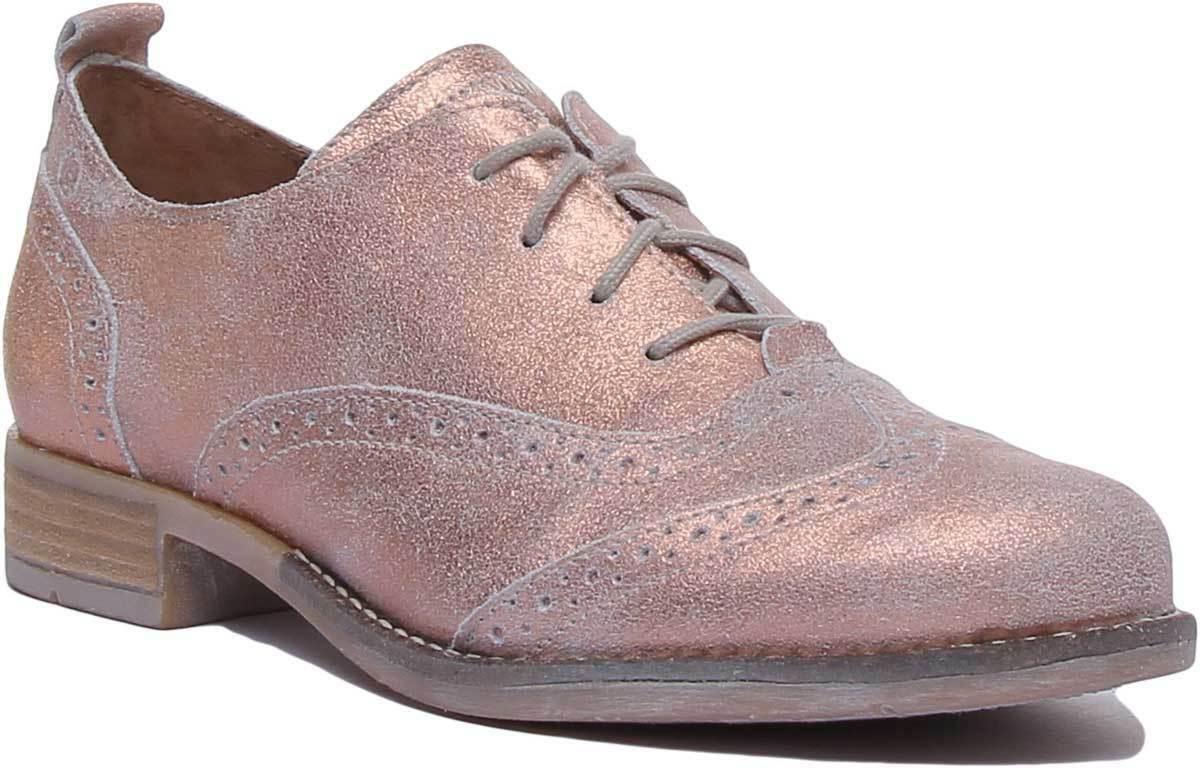 Josef Seibel  Sienna 89 Donne Brogues Leather Matt scarpe In Nude Dimensione UK 3 - 8  garanzia di qualità