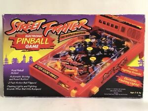 NEW-Vintage-Street-Fighter-2-Capcom-Video-Game-Electronic-Pinball-Arcade-Game