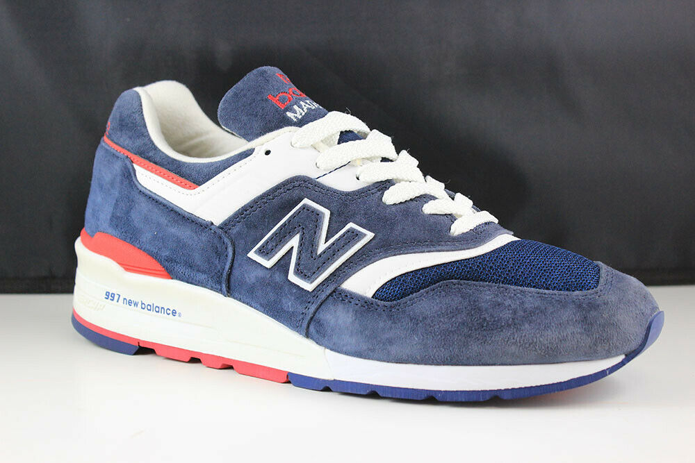 New Balance M997CY0N size 8.5 mens mens mens white navy red 4e4805