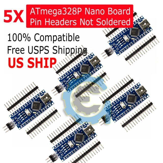 Arduino Nano V3.0 ATmega328 5V Micro-controller USA seller fast shipping