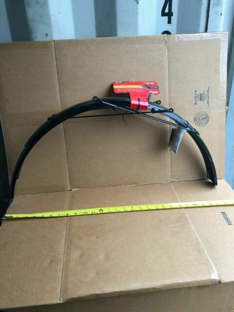 Planet Bike Bridge Hardware Kit for ATB Fenders Black