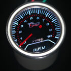 "Pointer 2"" 52mm Car Universal Smoke Len LED Tacho Tachometer Gauge Meter"