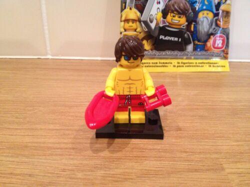 LEGO SERIES 12 LIFEGUARD MINT CONDITION