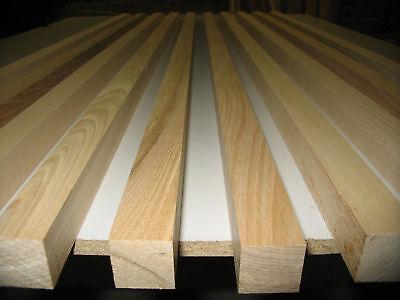 Sockelleiste Vierkant Gehobelt Top ZuverläSsig 10 X Eschen Leisten 23x23x1020mm Einfach Und Leicht Zu Handhaben €2,54/m