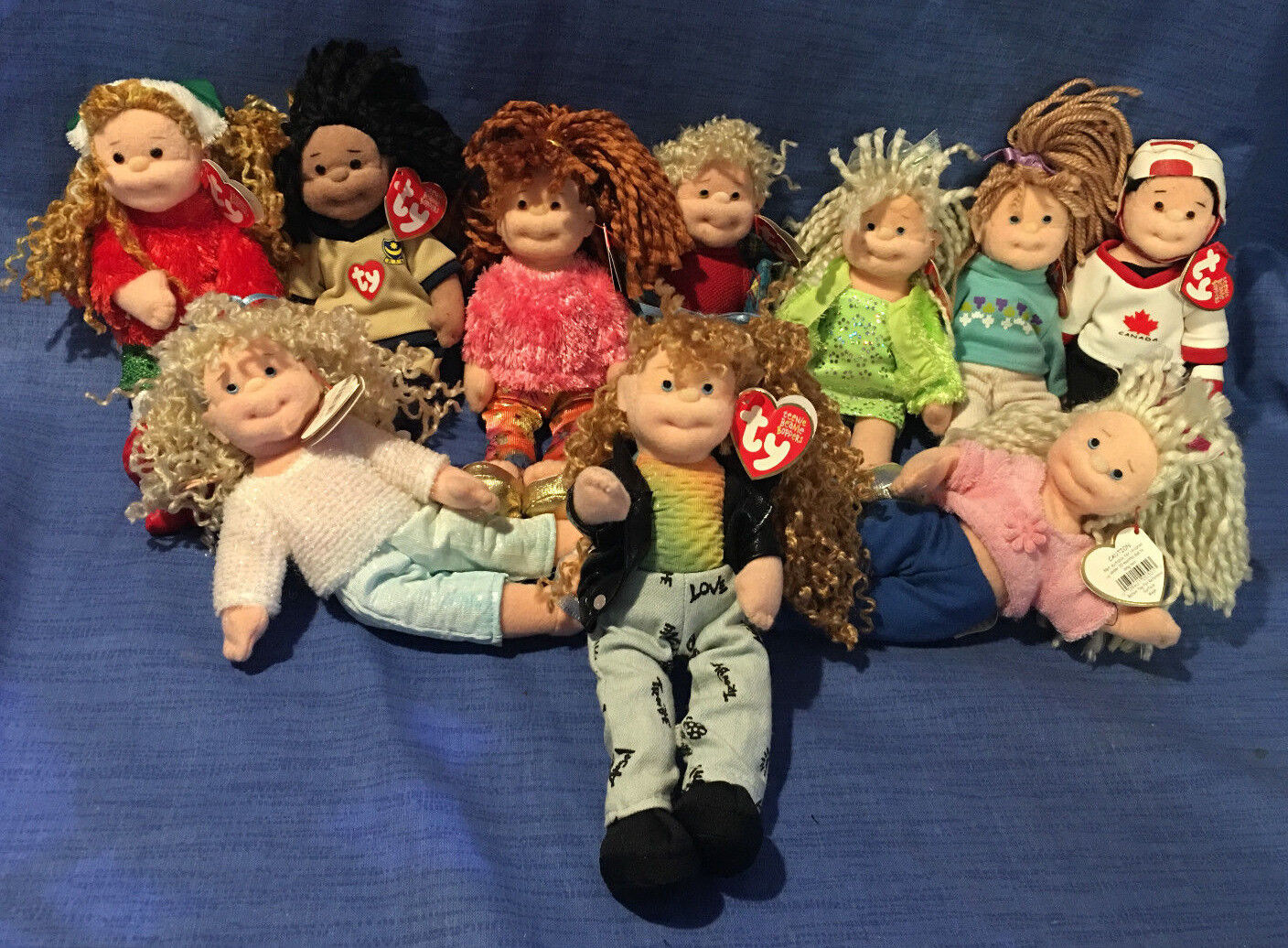 W-f-l Ty Teenie Beanie Boppers 21 cm Doll Doll Large Selection