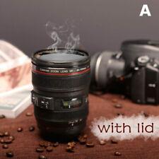 Caniam Camera Lens Thermos Mug Cup EF 24-105mm Travel Tea Coffee Mug Black Gifts