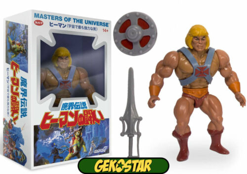 HE-MAN giapponese BOX-MASTERS OF THE UNIVERSE VINTAGE COLLECTION Action Figure