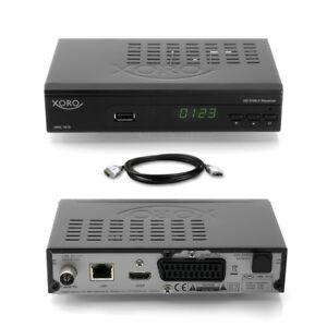XORO-HRK-7618-Digital-HD-Kabel-Receiver-DVB-C-7660-7620-HDMI-LAN-USB-Scart