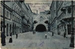 CPA-Trieste-Galleria-di-Montuzza-ITALY-529727