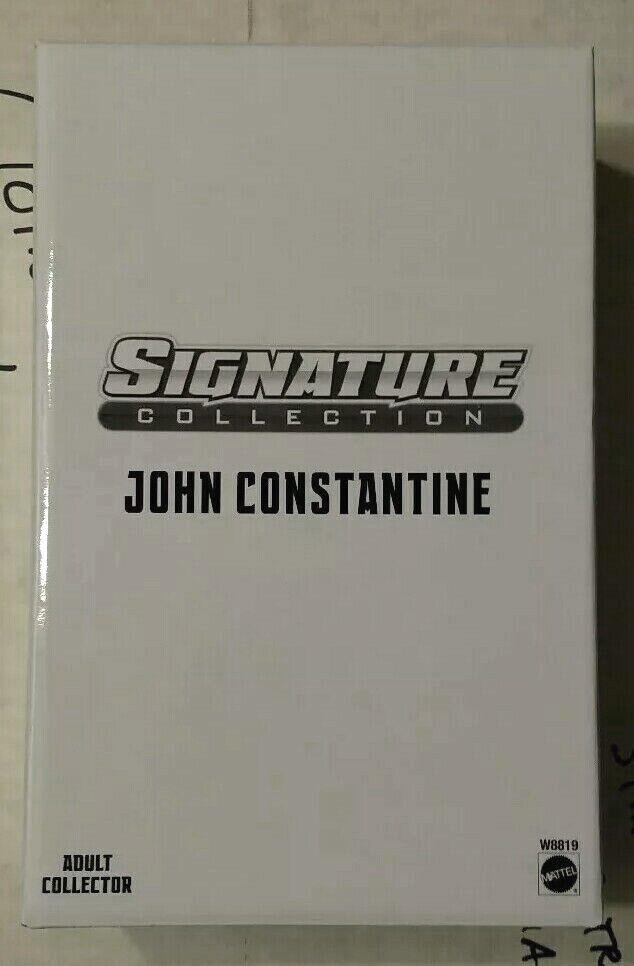 nuovo DC UNIVERSE CONSTANTINE SIGNATURE COLLECTION HELLBLAZER COMICS DESIGN MATTEL