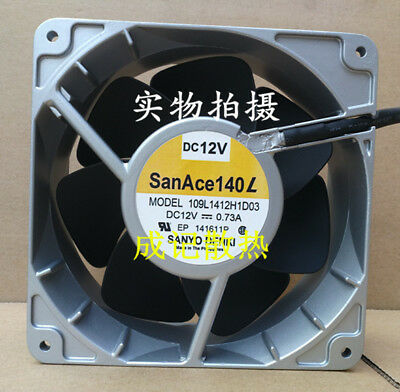 New Original Sanyo Sanyo 109P1412H102 14cm 14038 12V 0.73A 1 Cooling Fan.