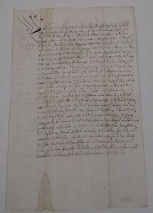 Revers-1666-Widenhof-in-Halbertshofen-Johann-Albrecht-Voehlin-von-Frickenhausen
