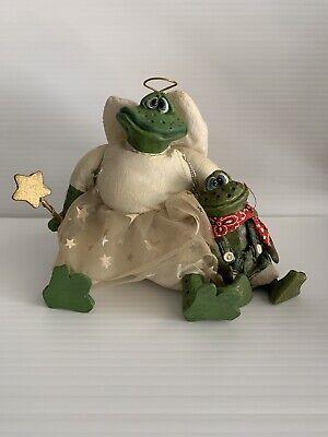 Russ Berrie Kathleen Kelly Dreamweaver #2931 Angel fairy frog w wand NEW