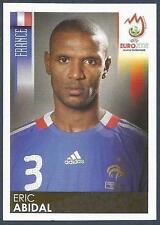 PANINI EURO 2008- #341-FRANCE-ERIC ABIDAL