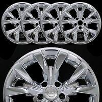 4 2015 16 2017 Chrysler 300 17 Chrome Wheel Skins Hub Caps Full Rim Covers