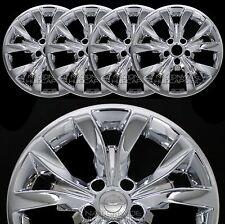 """4 New 2015 16 2017 Chrysler 300 17"""" Chrome Wheel Skins Hub Caps Full Rim Covers"""