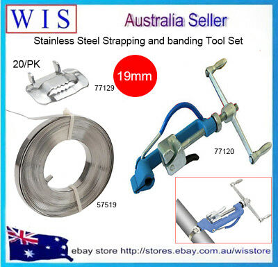 3//4 Ear Lokt Style Banding Buckle for Metal Banding and Strapping 304 Stainless Steel 25 Pack