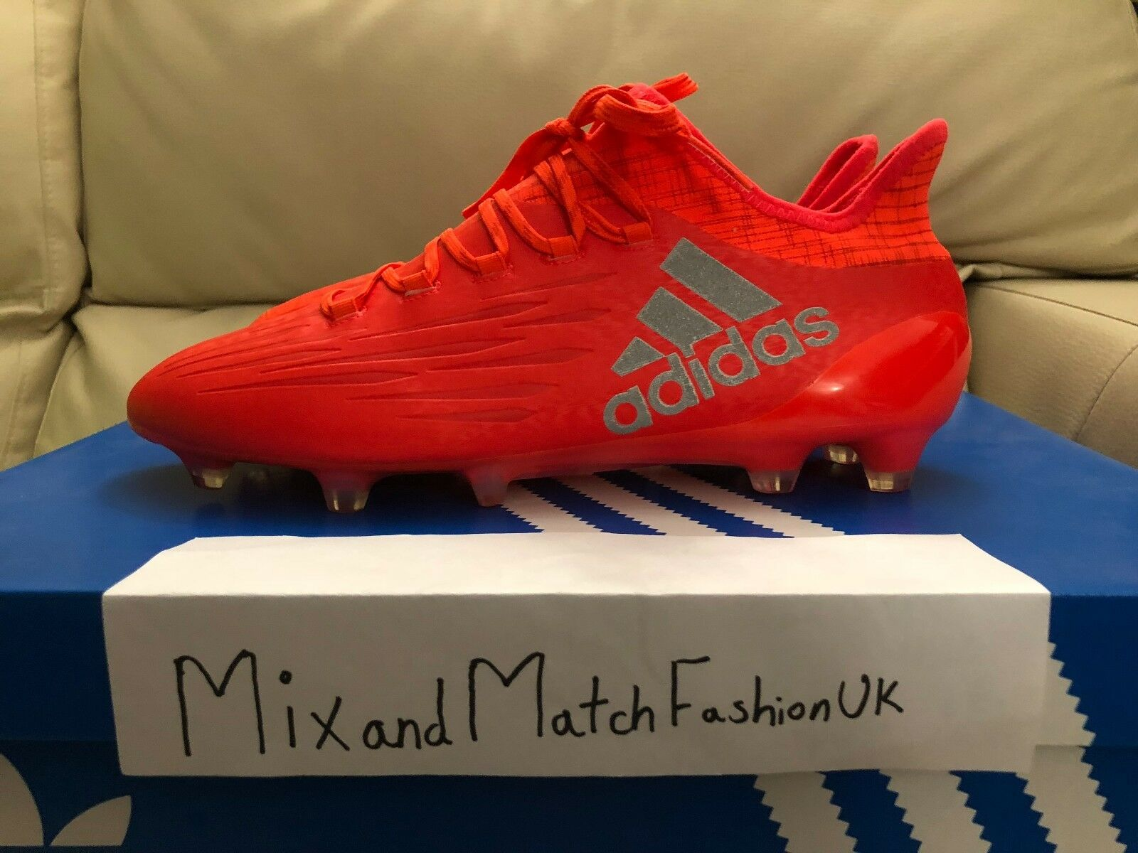 Adidas x 16.1 FG AG S81940 UK 8.5 US 9