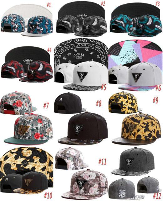 Hip Hop Men's CAYLER Sons Triangle Caps adjustable Baseball Snapback Hats SH27