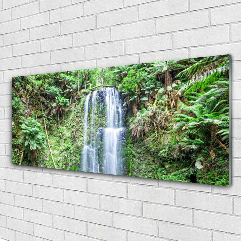 Acrylglasbilder Wandbilder Druck 125x50 Baum Natur