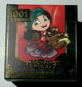 LEAGUE of LEGENDS FIRECRACKER JINX 001 S2 Limited Edition Authentic Sealed