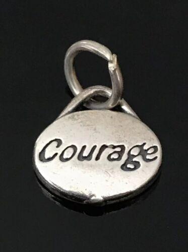 """Nouveau SJC Sundancer Sterling Silver /""""courage/"""" CHARME"""