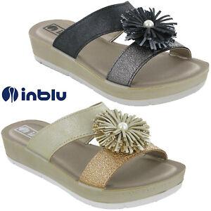 Womens Platform Sandals Flower Inblu