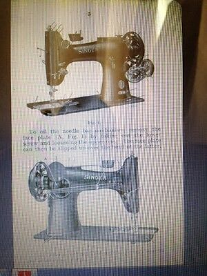 manual 132K6 132 Instructions for using Singer sewing machine class 132K