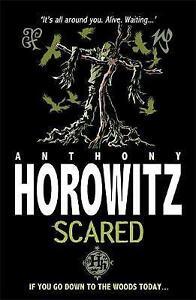 Scared-Horowitz-Horror-by-Anthony-Horowitz-Good-Used-Book-Paperback-FREE-amp