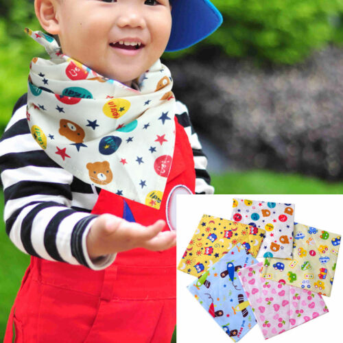 Dreieckstuch Lätzchen Baby Kinder Halstuch Spucktuch Halstuch Sabbertuch 5Stk
