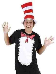 3ad740b5 La foto se está cargando Gato-Con-Sombrero-Camiseta-Kit-Dr-Seuss-Vestido-