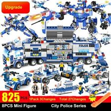 LEGO City Special Police Series SWAT 8 in 1 With Truck Station Building Blocks
